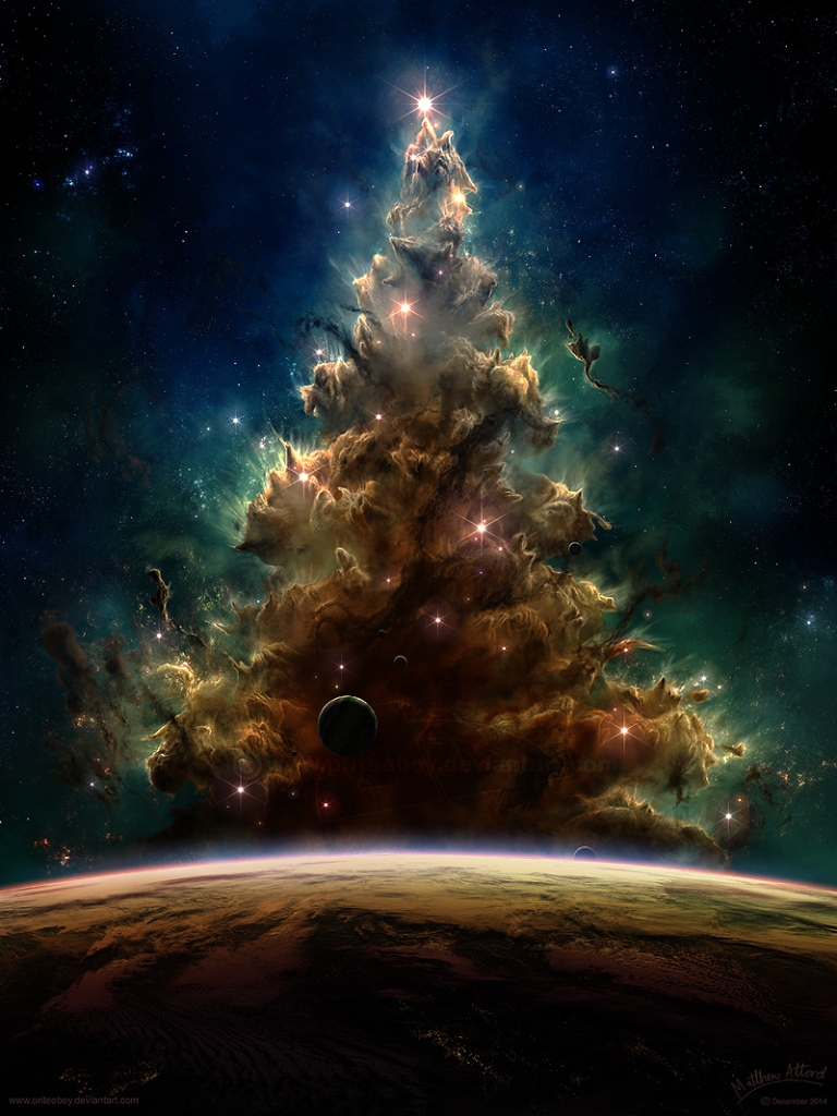Cosmic Christmas Tree